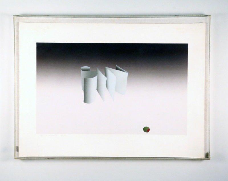 "EDWARD RUSCHA ""SIN"" NUMBERED PRINT, #140/150, 1970"