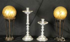 MIXED BOX LOT OF FOUR DECORATIVE PIECES