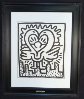 "Keith Haring ""kutztown Connection"" Poster"