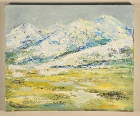 Scoti Carden Abstract Landscape Painting