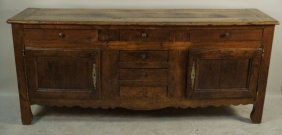 18th Century Country French Oak Sideboard