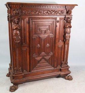 17th Century French Walnut Cabinet