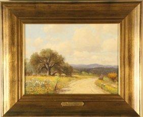 """Porfirio Salinas """"spring Flowers"""" Oil Painting"""