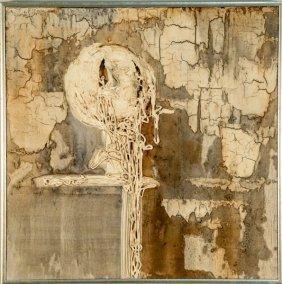 Albert (bert) Millar Abstract Mixed Media ,1969