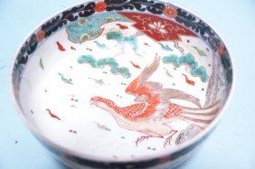 Japanese Imari Porcelain Bowl Meiji Period