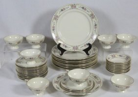 39-piece Set Of John Haviland China