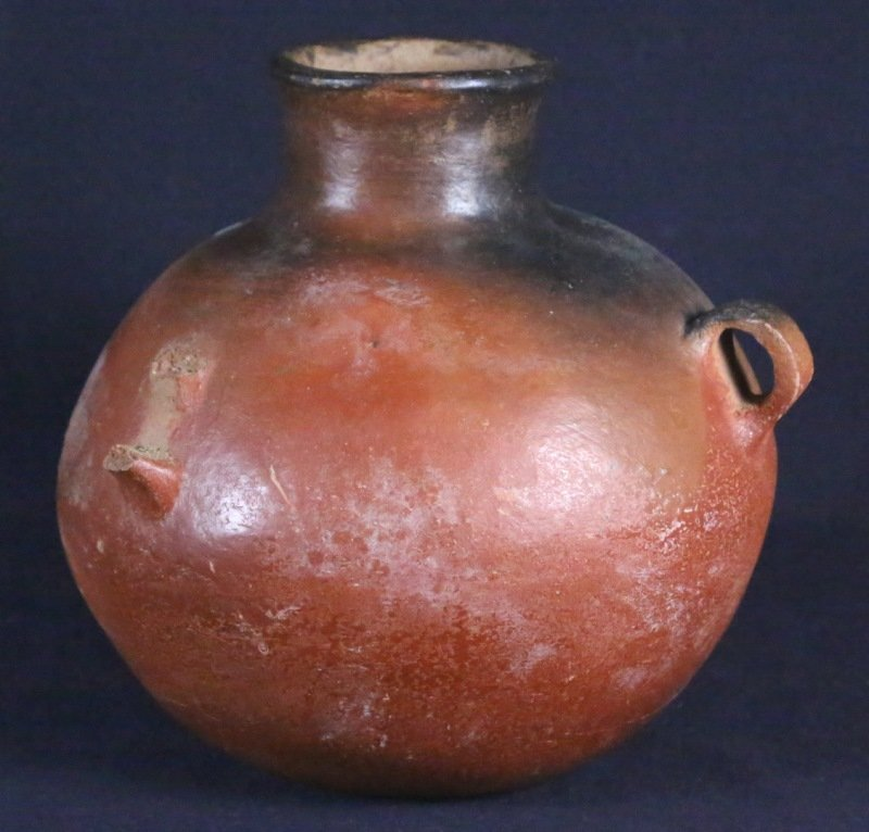 ZOOMORPHIC TERRACOTTA POT FROM MALI, AFRICA