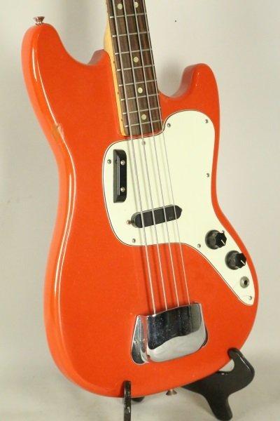 1965 FENDER MUSICMASTER BASS GUITAR - 2
