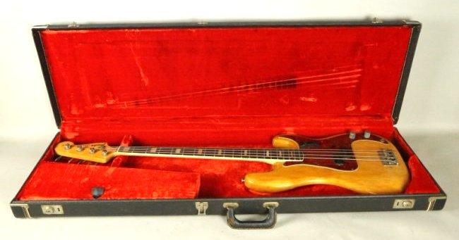 1961 FENDER CUSTOM PRECISION BASS GUITAR - 6