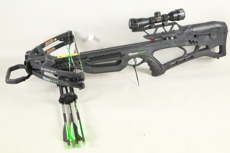 BARNETT QUAD EDGE CROSSBOW WITH SCOPE