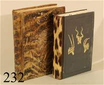 232: TWO BOOKS, A HUNTER'S WANDERINGS IN AFRICA; RECORD