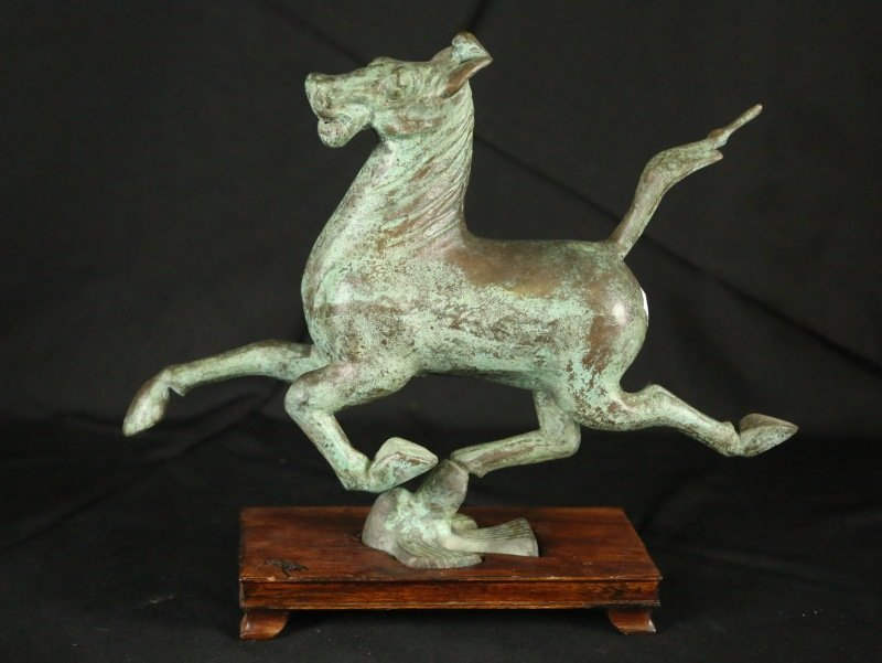 BRONZE TANG FLYING HORSE