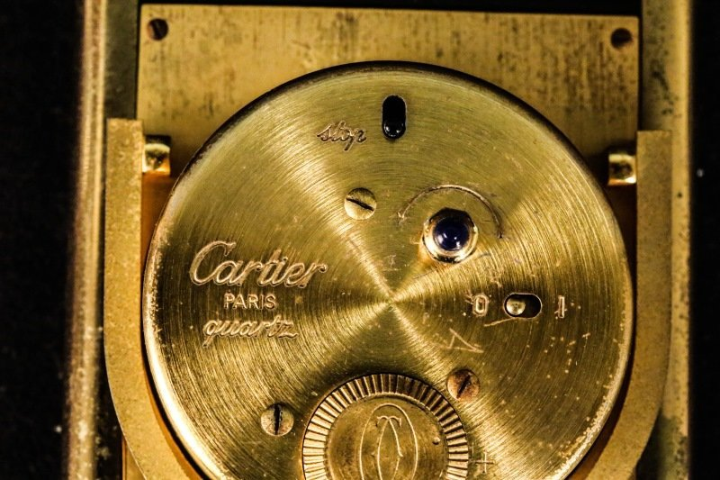 CARTIER TRAVEL ALARM CLOCK - 3