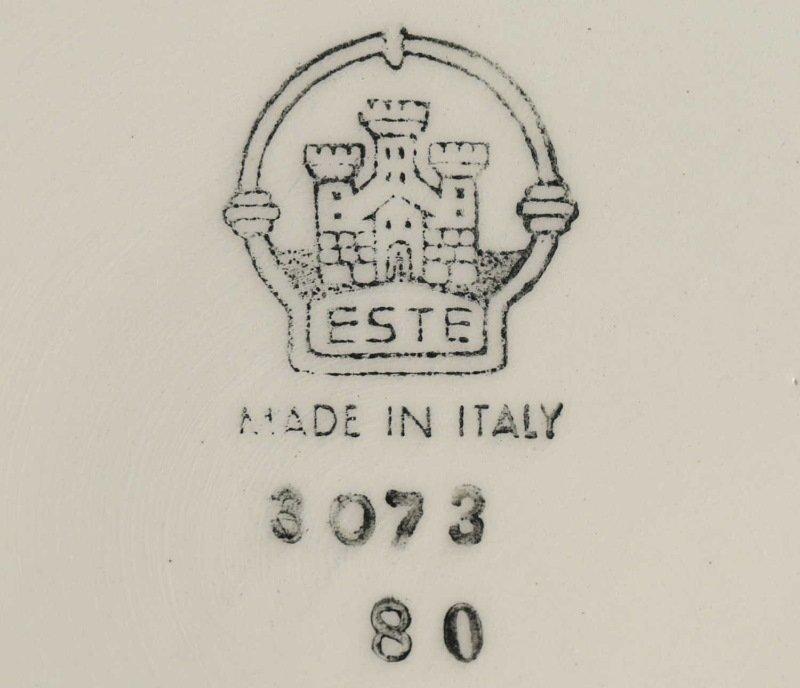 "CIRCA 1970's SET OF ELEVEN ITALIAN ""ESTE"" PLATES. - 2"