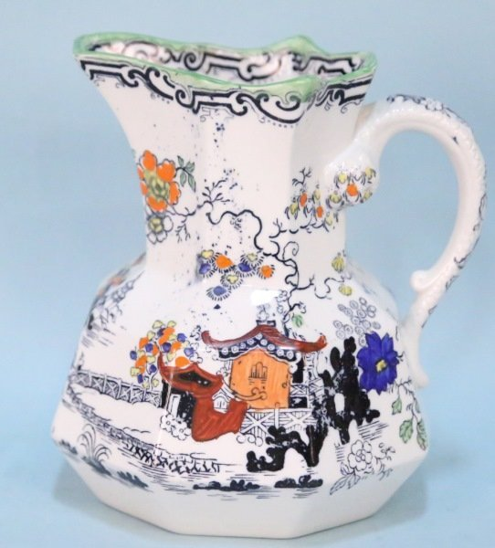 19th CENTURY MASON'S IRONSTONE PITCHER
