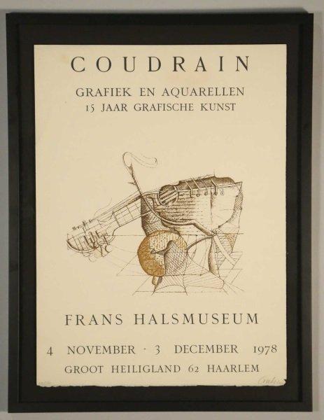 BRIGITTE COUDRAIN FRANS HALS MUSEUM POSTER