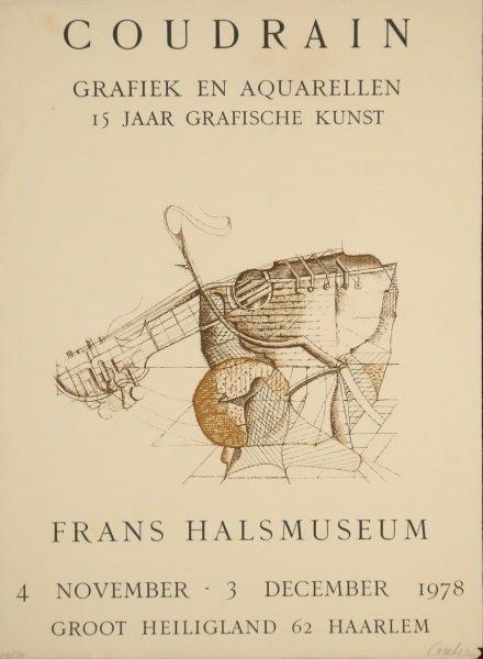BRIGITTE COUDRAIN FRANS HALS MUSEUM POSTER - 2