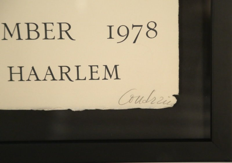 BRIGITTE COUDRAIN FRANS HALS MUSEUM POSTER - 3