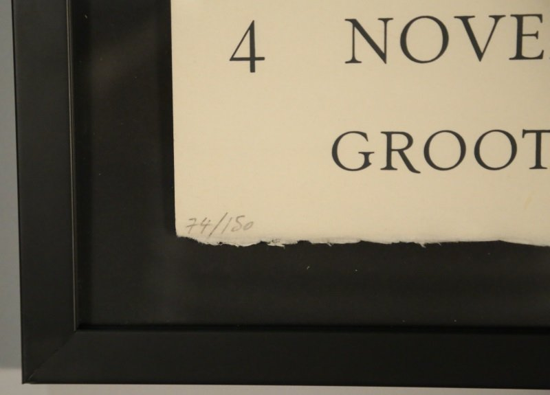 BRIGITTE COUDRAIN FRANS HALS MUSEUM POSTER - 4