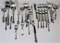 MIXED LOT OF TWENTYEIGHT STERLING SILVER PIECES