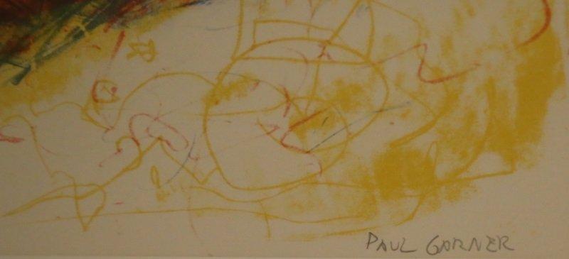 PAUL GARNER NUMBERED LITHO, EDITION NUMBER 7/12 - 3