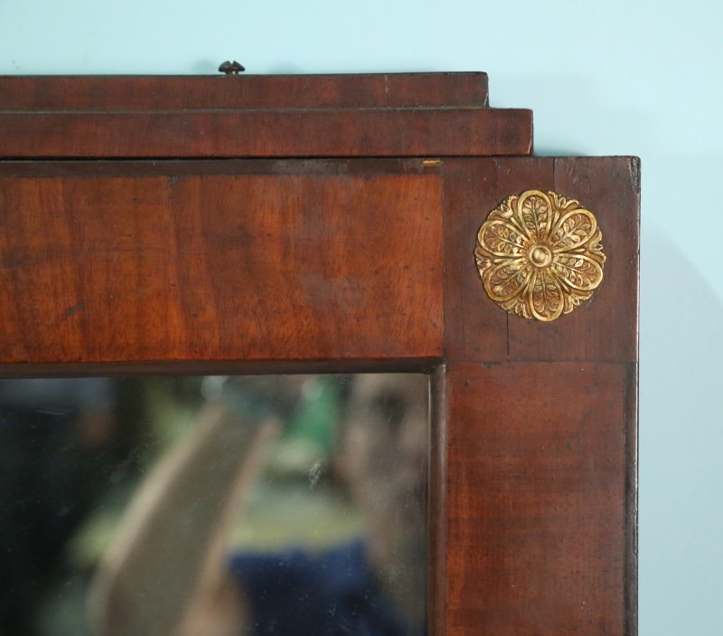 CIRCA 1820 FRENCH EMPIRE MIRROR - 4