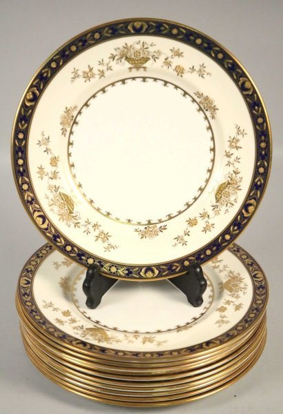 "SET OF 11 MINTON ""DYNASTY"" PLATES"