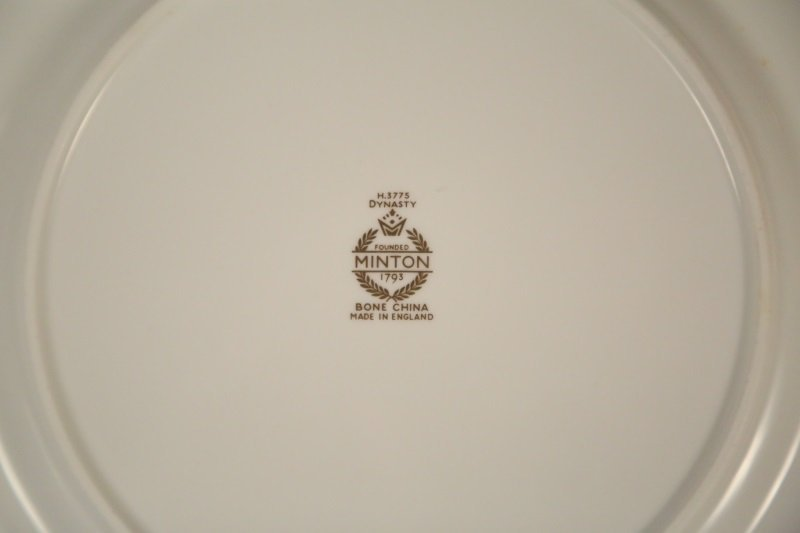 "SET OF 11 MINTON ""DYNASTY"" PLATES - 3"
