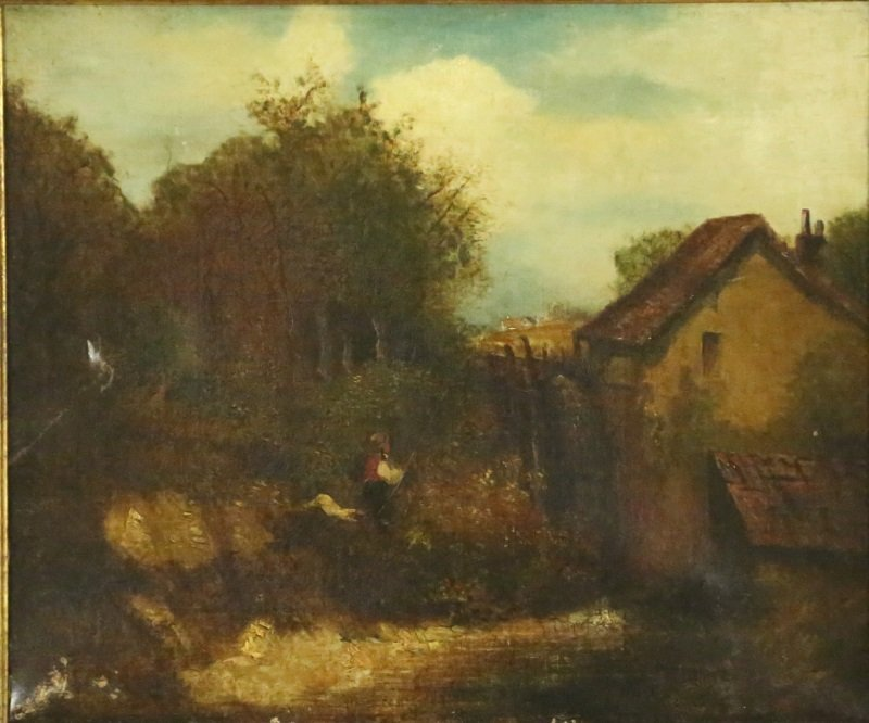 JOHN CONSTABLE (1776-1837) OIL PAINTING