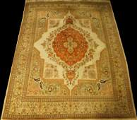 HAND KNOTTED PERSIAN WOOD BLEND RUG