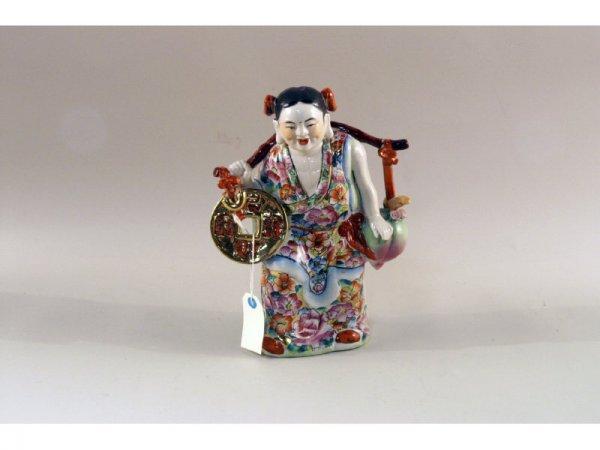 5: 1117: Chinese figurine   9 x 12 h