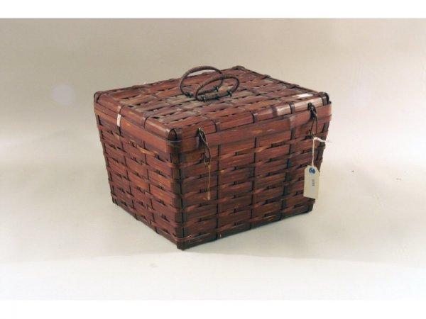 6: 1151: Woven basket   16 x 11