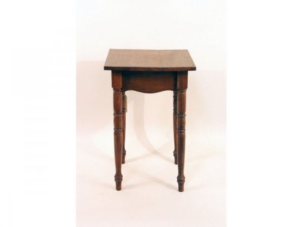 14: 1211: Maple side table   19 x 19 x 30 h