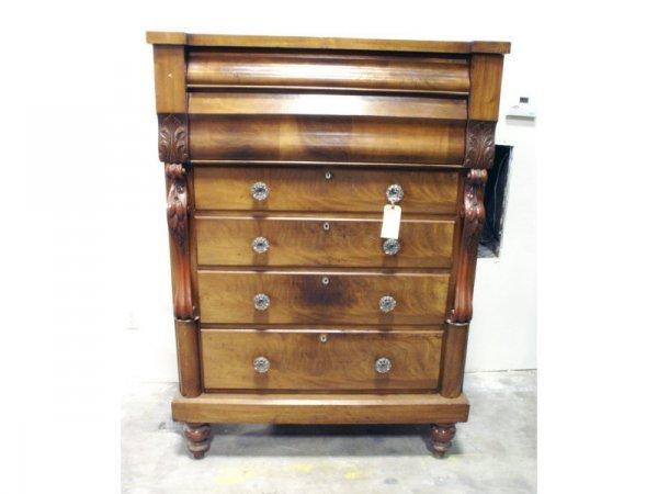69: 1014: 19th c. Scottish Empire, 4 drawer dresser
