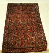 ANTIQUE HAND KNOTTED PERSIAN SAROUK RUG