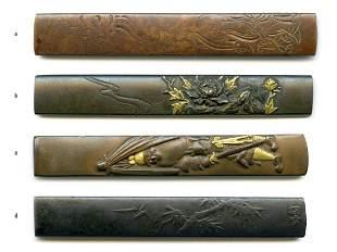 4 Samurai Sword Kozuka Estate of Carlo Monzino