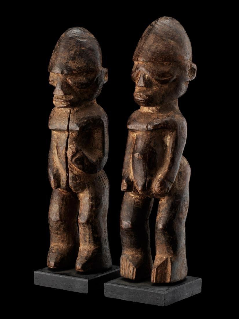 Lobi Pair of Figures / Tribal Art