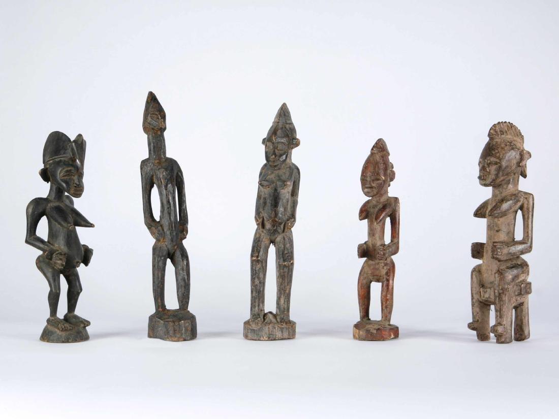 5 Senufo Figuren / 5 Senufo Figures