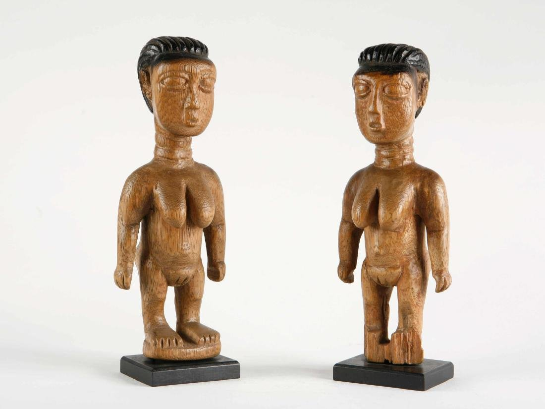 "Ewe Figuren-Paar, ""venavi"" / Ewe Pair of Figures"