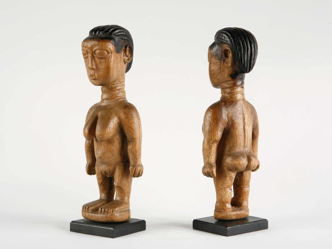 "Ewe Figuren-Paar, ""venavi"" / Ewe Pair of Figures - 2"