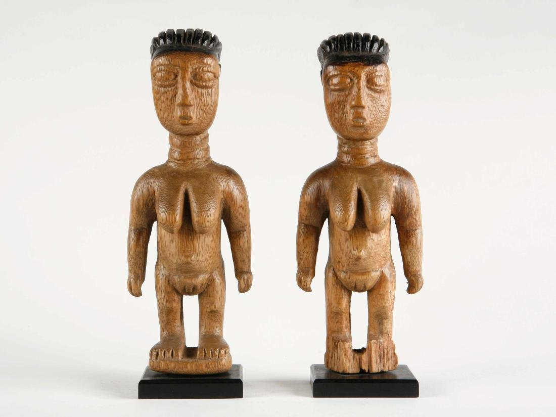 "Ewe Figuren-Paar, ""venavi"" / Ewe Pair of Figures - 3"
