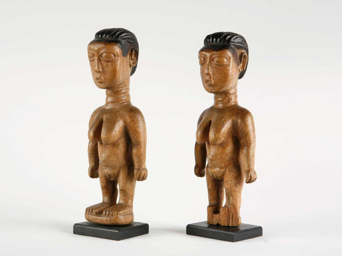 "Ewe Figuren-Paar, ""venavi"" / Ewe Pair of Figures - 4"