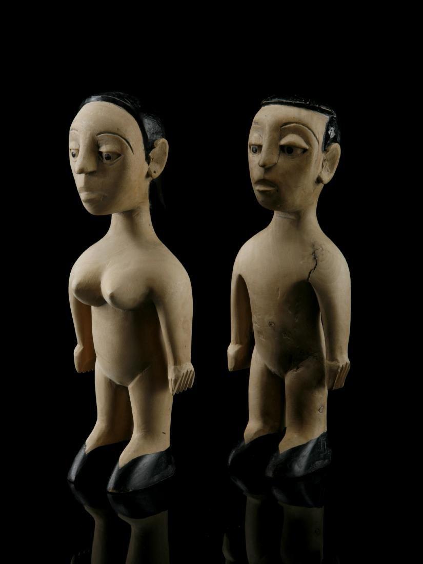 """Figuren-Paar, """"venavi"""" / Ewe Pair of Figures"""