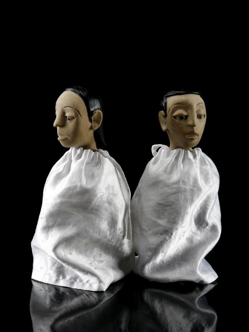 """Figuren-Paar, """"venavi"""" / Ewe Pair of Figures - 4"""