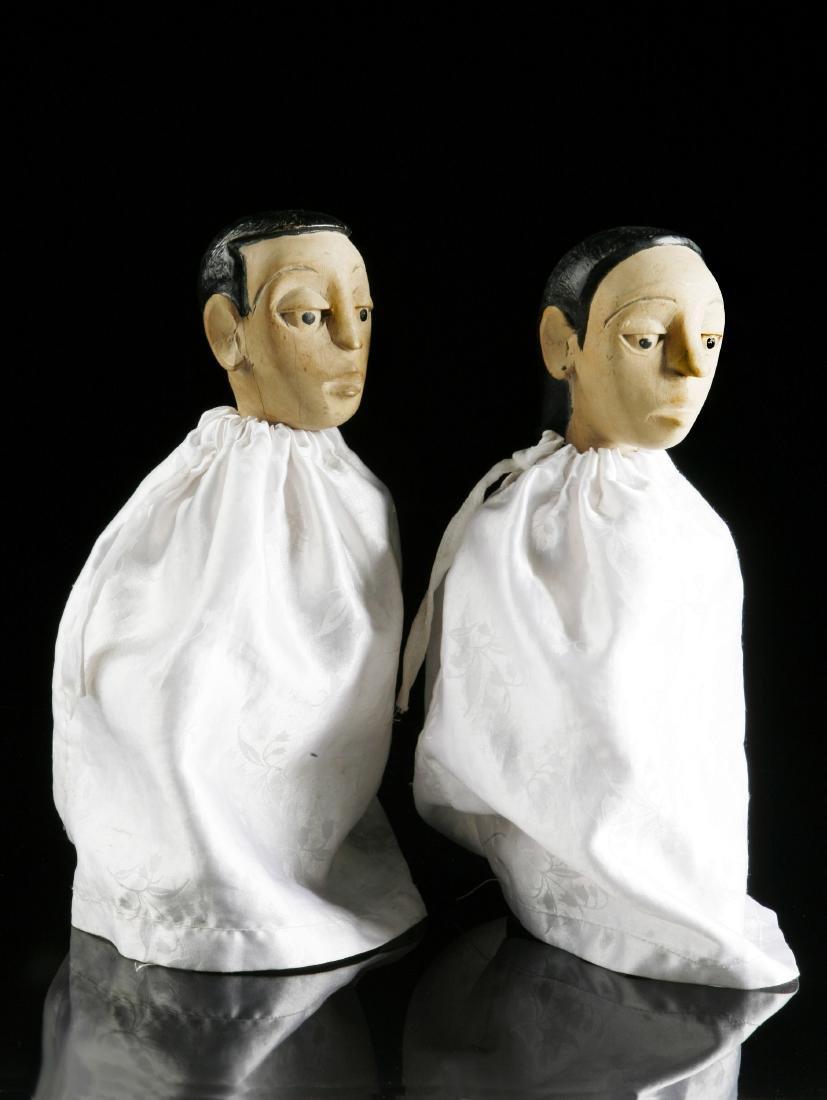"""Figuren-Paar, """"venavi"""" / Ewe Pair of Figures - 5"""