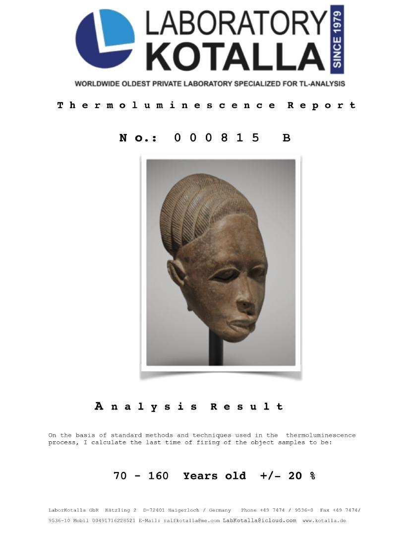 Ife-Gedenkkopf / Ife Memorial Head - 7