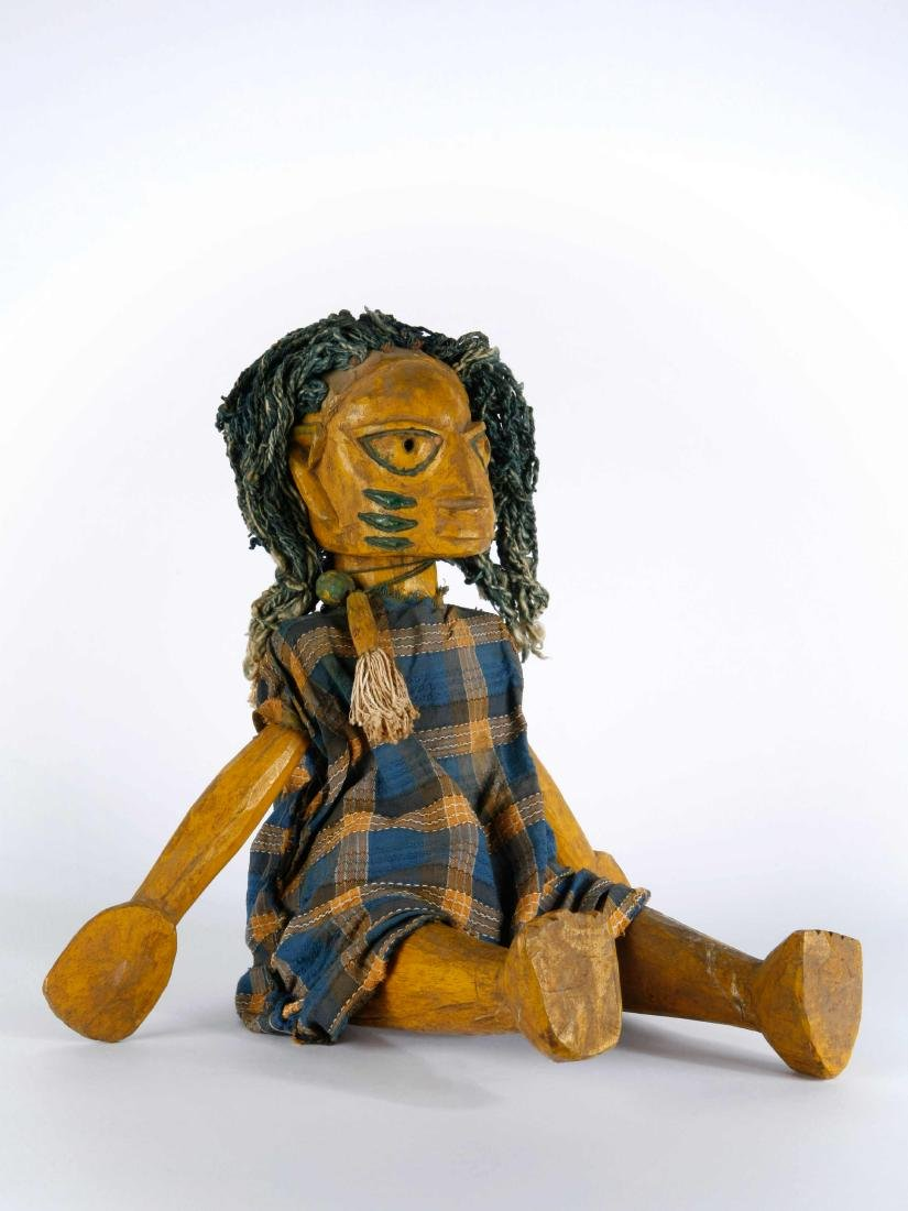 Yoruba-Marionette / Yoruba Marionette / African Art - 3