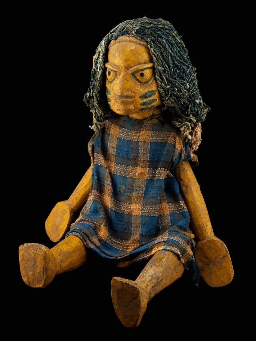 Yoruba-Marionette / Yoruba Marionette / African Art - 9