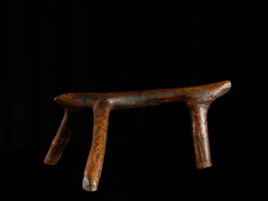 Shilluk- Nackenstütze / Shilluk Neckrest / African Art