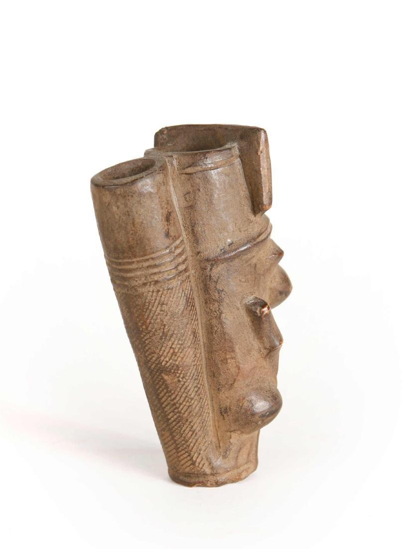 Grasland-Tabakpfeiffenkopf / Bowl of a smoking pipe - 5